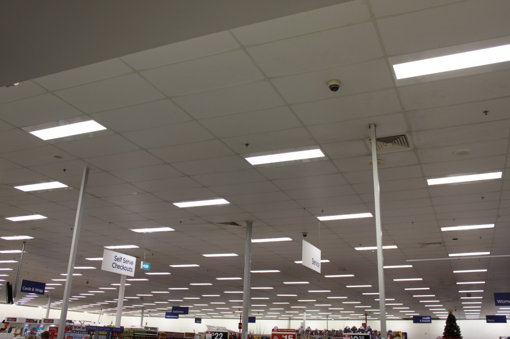 Suspended Tile ceiling
